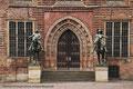 Unesco Weltkulturerbe: Das Bremer Rathaus; Seitenansicht