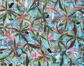 """""""Hot Zones""""   2010   Gouache, ink on paper   44 x 55"""" (112  x 140 cm)"""