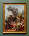 """ The Lover Crowned"" after Jean-Honore Fragonard  (1732-1806)"