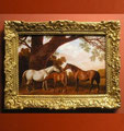 """""""Two Shafto Mares and a Foal"""" after George Stubbs"""