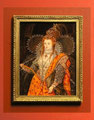 """Queen Elizabeth, Rainbow Portrait"" after Marcus Gheeraerts"