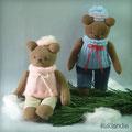 Маша и Миша, мини-игрушки.