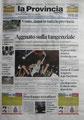 14 Maggio 2012 -Articolo della Provincia Pavese-