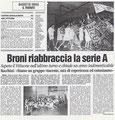 18 Maggio 2003 -Articolo della Provincia Pavese-