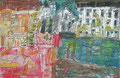 """92x60  """"Le voyage bis de Did""""  acrylique-encre sur toile  2013"""