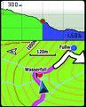 Etrex - Navigieren auf der Kartenseite