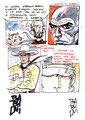 Cartolina Godega Fumetti (Babini) firmata