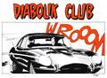 cartolina 1° assemblea Diabolik Club 1997 versione bianca