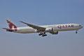 Qatar Aieways mit Boeing 777-300