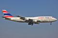 Boeing 747-300 der Orient Thai, bis 2008 flog er bei Japan Airlines.
