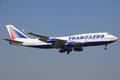 Boeing 747-400 von Transaero aus Moskau-DME.