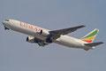 Boeing 767 aus Addis Abeba von Ethiopian Airlines.