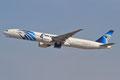 Auch Egypten ist täglich vertreten, mit Boeing 777-300.