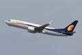 Jetairways ebenso aus Indien.