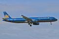 Vietnam Airlines mit einem von täglich zwei A-321.