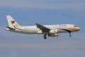 Myanmar Airways mit A-320, leider kein täglicher Gast.