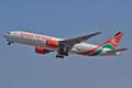 Aus Nairobi kommt Kenya Airways täglich mit Boeing 777.