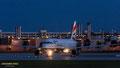 Spät am Abend auf dem Weg nach London: G-EUYH // Airbus A320-232 // British Airways