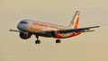 Landanflug im Sonnenuntergang: D-ABDU // Airbus A320-214 // Air Berlin (Air Berlin/Etihad Livery)