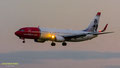 Norwegian Tailart 1: LN-NOR // Boeing 737-81D // Norwegian (Povel Ramel livery)