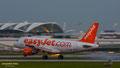 Kurz nach dem Touchdown: G-EZFG // Airbus A319-111 // EasyJet