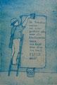 """Thomas Landt - """"Die Kunst ist ..."""" - Aquatinta-Farb-Radierung auf Bütten - 24x16 cm - 2004 - Auflage 10/20 - Sylt"""