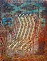"Thomas Landt - Motiv 13 - ""Der Innere Strand-Korb"" - Aquatinta-Farb-Radierung - 21x15 cm - Kunstpostkarte - Sylt"
