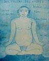 """Thomas Landt - """"Der Freund des Wortes"""" - Aquatinta-Farb-Radierung auf Bütten - 36x30 cm - 2007 - Auflage 5/10 - Sylt"""