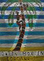 """homas Landt - Motiv 15 - """"Guten Morgen Cocosnuss"""" - Farb-Linolschnitt - 21x15 cm - Kunstpostkarte - Sylt"""