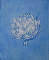 """Thomas Landt - """"Vorspeise mit 11 Buchstaben"""" - Aquatinta-Farb-Radierung auf Bütten - 20x17 cm - 2007 - Auflage 11/20 - Sylt"""