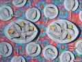 """Thomas Landt - """"Unter Einfluss von Auster No.5"""" - Öl auf L. - 90x120 cm - 2006 - Privatbesitz - Sylt"""