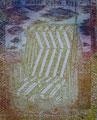 """Thomas Landt - """"Der Innere Strand-Korb"""" - Aquatinta-Farb-Radierung auf Bütten - 19x16 cm - 2008 - Auflage 9/20 - Sylt"""