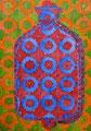 """Thomas Landt - """"Wärme ist für alle da"""" - Aquatinta-Radierung koloriert auf Bütten - 30x20 cm - 2012 - Auflage 3/10 - Sylt"""