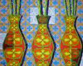 """Thomas Landt - """"Die drei Grazien"""" - Öl auf Leinwand - 80x100 cm - 2012 - Sylt"""