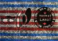"""Thomas Landt - Kunst-Stempel"""" - Farb-Linoldruck auf Bütten - 30x42 cm - 2012 - Auflage 2/10 - Sylt"""