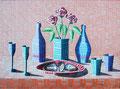 """Thomas Landt - """"Das süsse Leben im Frühling"""" - Öl auf L. - 90x120 cm - 2004 - Sylt"""