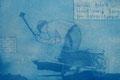 """Thomas Landt - """"Wo viel Arbeit ist ..."""" - Aquatinta-Farb-Radierung auf Bütten - 16x24 cm - 2004 - Auflage 4/20 - Sylt"""