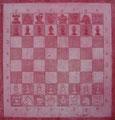 """Thomas Landt - """"Dame, König und natürliche Bauern"""" - Farb-Radierung auf Bütten - 30x30 cm - 2004 - Auflage 4/10 - Sylt"""