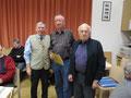 Heinz Reiter wurde  vom Obmann und ehem.VNO Präsident Ing.Josef Dag, für 20 Jahre Mitgliedschaft geehrt.