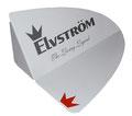 Targa ELVSTROM in metallo taglio laser