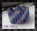 325 - Peyote Armband - Flickenteppich (EK)