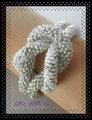 713 - Silvery Knot Bracelet - SHK043 (EK)