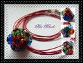 818 - Blooming Black Bead - Kette