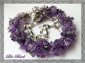 1074 - Amethyst and Silver - THK059