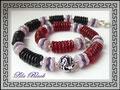 0983 - Big Waves in red black and purplerose