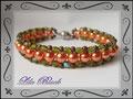0965 - Herbstfeuer Vintage Bracelet (EK)