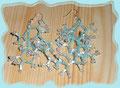 070 - Korallenohrringe - 1. Versuch
