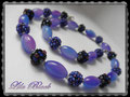 628 - Blueberry Collier  (EK)
