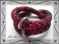 859 - Berry Double Bracelet - filled Net (EK)