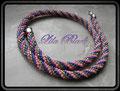 357 - Candy Twist - Schlauchhäkelkette (SHK001) - (EK)